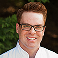 Evan Bollers , 澳门人威尼斯app手机官网 Bachelor's in 烹饪科学 alumni, is R&D Chef at Custom Foods of America.